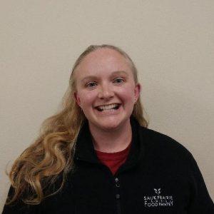 Carol Gagnon, Food Pantry Manager