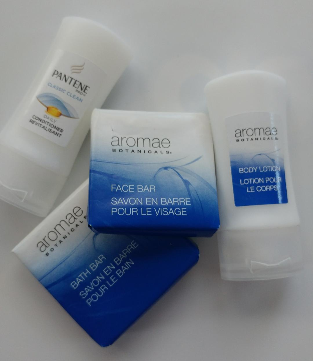 travel sized toiletries